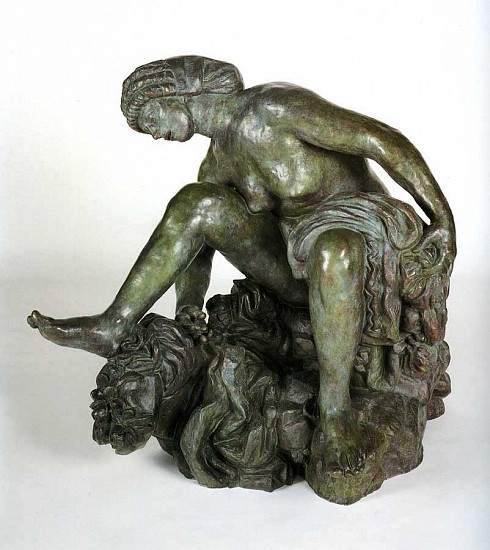 Antoine Bourdelle, Large Crouching Bather (Grande baigneuse accroupie) 1906-1907, Bronze