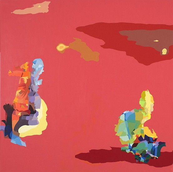 Beth Reisman, Losing My Religion 2007, Acrylic on panel